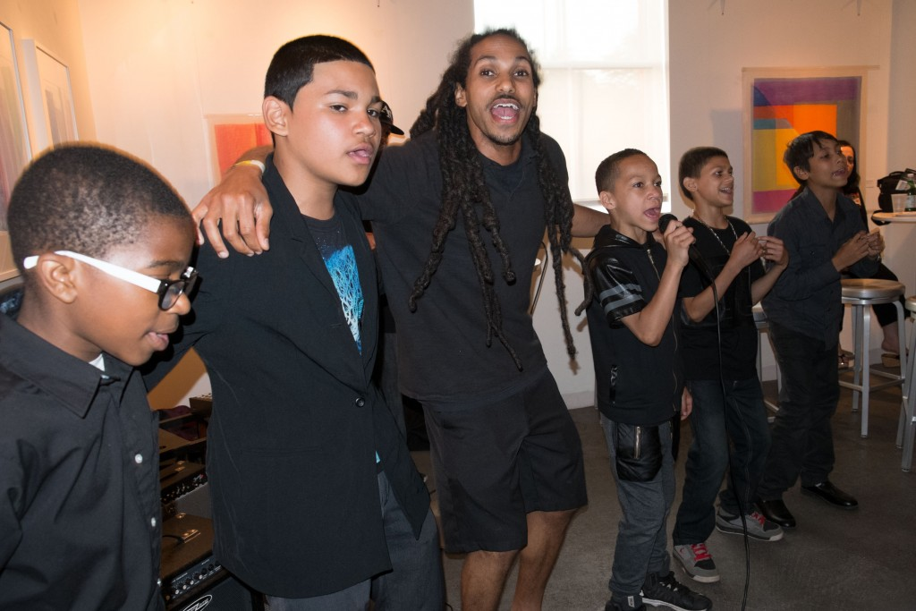 Charter Oak Cultural Center's Good Vibrations Rap Group