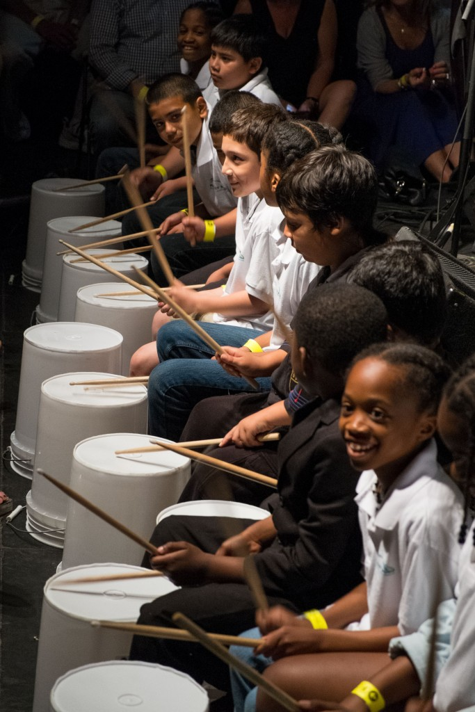 Project Music's Bucket Drummers